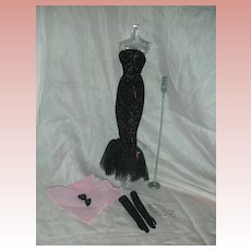 Vintage Barbie Doll Solo in the Spotlight outfit Complete #982 early 1960's