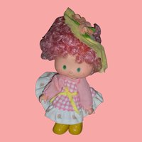 Rare Vintage 1980's Kenner Strawberry Shortcake Peach Blush Party Pleaser Doll