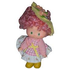 Rare Vintage 1980's Kenner Strawberry Shortcake Peach Blush Party Pleaser Doll