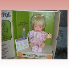 Vintage Mattel Cheerful Tearful Doll NRFB 1965