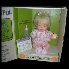 Vintage Mattel Cheerful Tearful Doll NRFB 1965