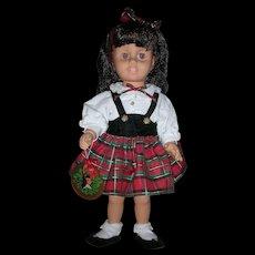 HTF Vintage Christmas Holiday Mattel Talking Chatty Cathy Doll