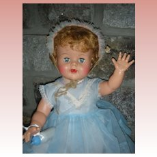 Vintage Ideal Big Besty Wetsy Doll HTF Large 22 inch Size Excellent Condition Playpal Size Circa 1959