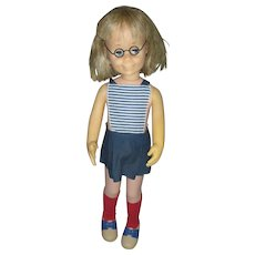 Vintage Mattel Charmin Chatty Cathy Doll Early 1960's Original Clothing