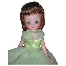 Vintage 8 inch American Character Betsy McCall Doll Wearing Original Clothing and Chemise Underneath