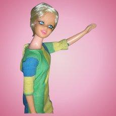 Vintage Mod Era 1967 Twiggy Barbie Doll All Original Excellent