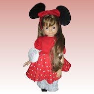"Rare Gotz German Doll for Disney ""Morgan"" only 50 Produced"