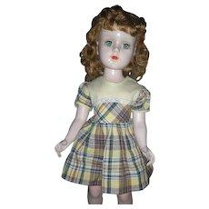 American Character Sweet Sue Walker Doll 1950's Hard Plastic Doll 20 inch All Original