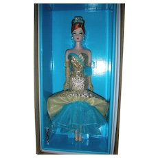 Silkston Barbie Doll Holiday Hostess Collection Happy New Year Doll with Original Shipper