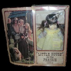 Vintage Little House on the Prairie Carrie Doll in Box by Knickerbocker