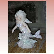 Vintage Enesco Coral Kingdom Figurine Charissa Mermaid