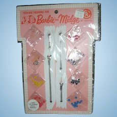 Vintage Barbie and Midge #1831 For Barbie Dress Makers Mint on Card MOC