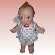 Vintage Rose O'Neill Kewpie Composition Doll with Paper Label Compo Doll 11 inch