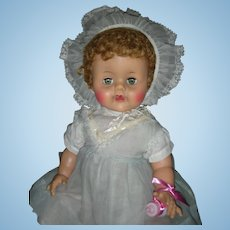 Rare Large Ideal Betsy Wetsy Doll 22 inch Playpal Size 1950's