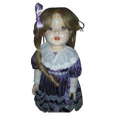 Rita Paris Hard Plastic Doll 27 Inch 1950's Walker Playpal Size