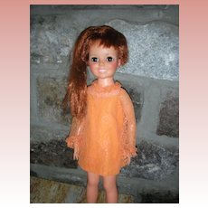 Vintage Ideal Crissy Doll Grow Hair All Original