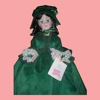 Vintage 21 inch Madame Alexander Doll GWTW Scarlett O'Hara Fashion Doll