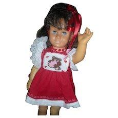Vintage Mattel Brunette Pigtail Chatty Cathy Doll 1960's