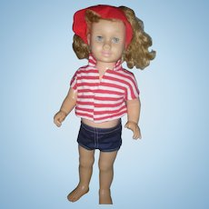 Vintage 1959 Mattel Chatty Cathy Doll in Playtime Set