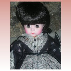 Madame Alexander Lissy Doll Little Women Series Jo 12 inch All Original