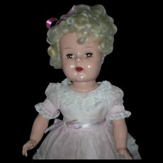 Vintage 1950's Beehler Arts Raving Beauty Doll Hard Plastic Doll Platinum Hair Artisan