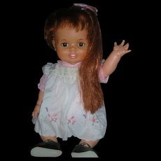 Vintage IDeal Baby Crissy Doll 24 inch Grow Hair Doll