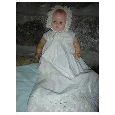 Vintage Madame Alexander Baby Genius Doll Hard Plastic 12 inch Doll