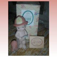 Rose O'Neill Kewpie Collection Action Figurine Doll Fireman
