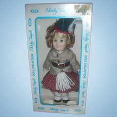 """Vintage 8"""" Ideal Shirley Temple Doll Wee Willie Winkie NRFB"""