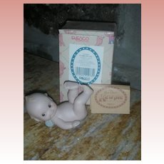 Rose O'Neill Kewpie Collection Action Figurine Doll Tumbling