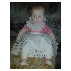 "Vintage Gerber Baby Doll Flirty Eyes 17"" Circa 1979 All original with tag"