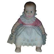 "Vintage Gerber Baby Doll Flirty Eyes 17"" Circa 1979 All original with tag"