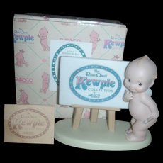 Rose O'Neill Kewpie Collection Action Figurine Doll Signature Figurine
