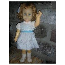 Vintage Mattel Chatty Cathy Doll Blonde 1960's Original Dress