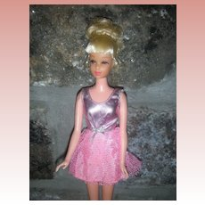 Vintage Mattel Growin' Pretty Hair Francie Barbie Doll Mod Era
