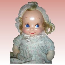 Vintage 1940's Trudy Composition 3 Face Doll
