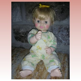 Rare Effanbe Dy Dee Darlin' Doll 1968 Sears Exclusive Dy-Dee Drink and Wet