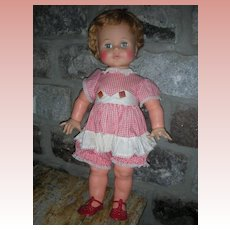 Vintage Ideal Kissy Doll Playpal Family Large 22 inch