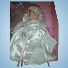 Vintage HTF Madame Alexander Doll Maria Bride From The Sound of Music in Box