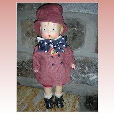 Vintage Effanbee Vinyl Skippy Doll all Original