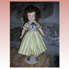 Vintage 1950's Ideal Little Miss Revlon Doll in #9141 Sunday Outfit