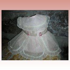 HTF Vintage 1960's Mattel Chatty Cathy Doll Sunday Visit Dress