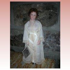 "Doll Artist UFDC ""Laura by Thelma Resch Doll"