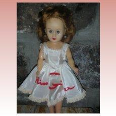 Vintage Cosmopolitan Little Miss Ginger Fashion Doll 1950's All Original