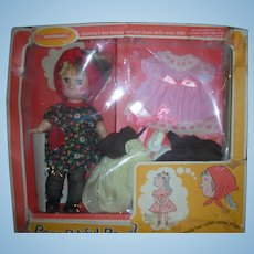 Vintage Horsman Poor Pitiful Pearl Doll Giftset NRFB 1960's 12 inch