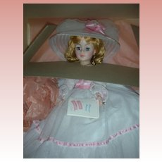 Vintage Madame Alexander Portrait Melanie Doll 21 inch Mint in Box #2220