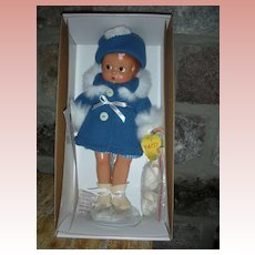 Effanbee Winter Patsy Doll NRFB with Ice Skates