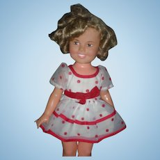 Vintage Ideal Shirley Temple Doll Tagged Dress 15 Inch