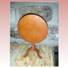 Vintage Wooden Doll Tilt Top Table