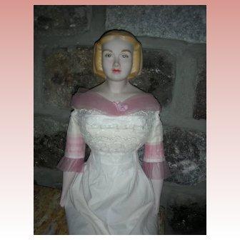 """UFDC Doll Artist Fawn Zeller Miss Kentucky 25"""" Bisque Doll"""